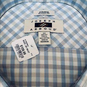 NWT 100% 2-Ply Egyptian Cotton Shirt